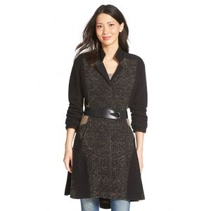 NWT Nic+Zoe ✨host pick✨ belted knit coat size M